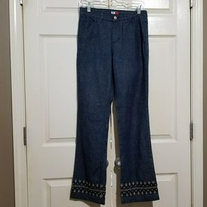 Tommy Hilfiger | Embroidered beaded jeans 5